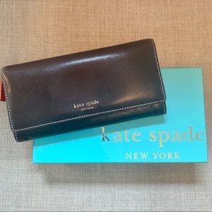 Brown Kate Spade Wallet